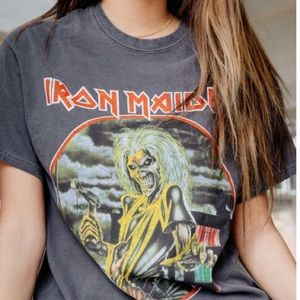 Vintage look Iron Maiden Killers TShirt